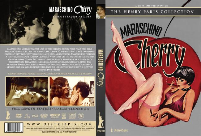 Maraschino Cherry Single Version DVD 2014- Front Side Cover