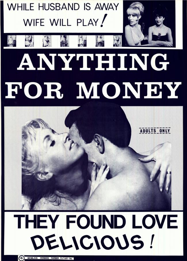 Anything For Money- Original Movie Poster