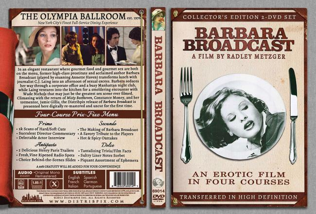 Barbara Broadcast Collector's Edition 2 DVD Set, Artwork Front Side 1