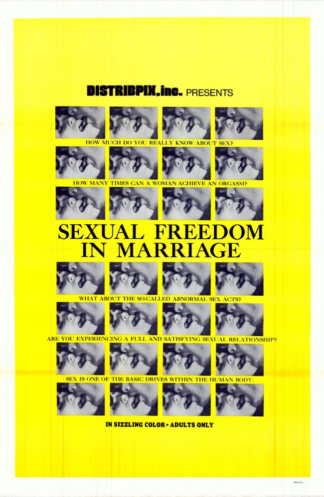 Sexual Freedom In Marriage- Original Movie Poster