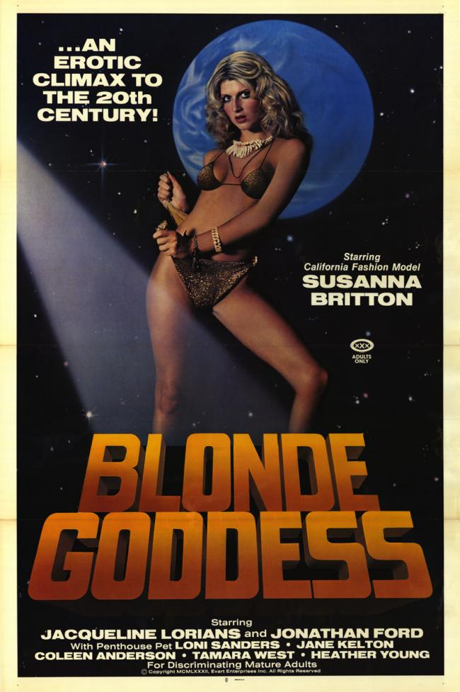Blonde Goddess- Original Movie Poster