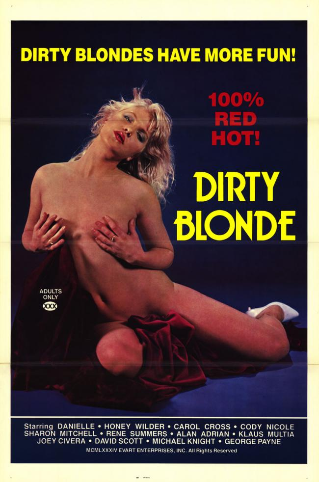 Dirty Blonde- Original Movie Poster