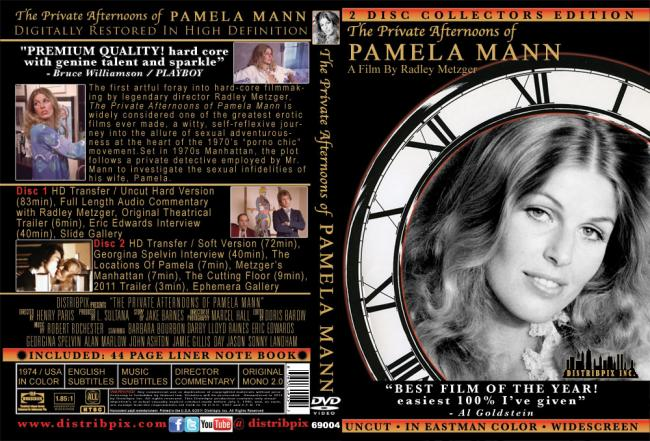 The Private Afternoons of Pamela Mann -2 Disct Set