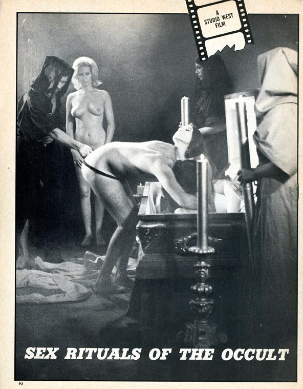 Sex Rituals of the Occult