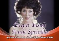 Up Close and Personal with Annie Sprinkle