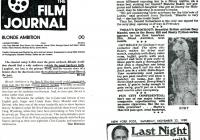 Film Journal - article